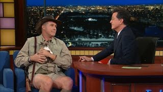 Download Will Ferrell, Exotic Animal Expert Video