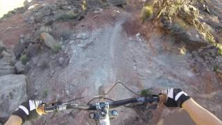 Download High Schooler Rides the Formidable King Kong Freeride Line on a Trail Bike Video