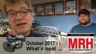 Download Whats Neat in model railroading | October 2017 Model Railroad Hobbyist | Ken Patterson Video