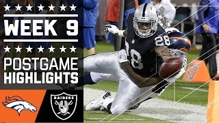 Download Broncos vs. Raiders | NFL Week 9 Game Highlights Video