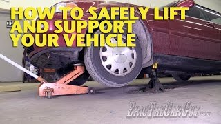 Download How To Safely Lift and Support Your Vehicle -EricTheCarGuy Video