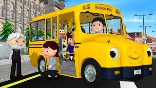 Download детские песенки | Колёса у автобуса | мультфильмы для детей | Литл Бэйби Бум Video