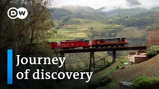Download Traveling Ecuador by train | DW Travel Documentary Video