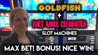 Download Breaking into Fort Knox! BIG Line Hit! Gold Fish Slot Machine! Bonus! Great WIN! Video