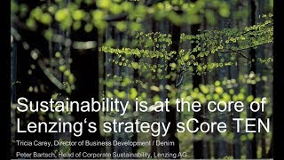 Download Lenzing Sustainability and Fiber Innovation Webinar- Textile Exchnage Video