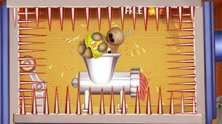 Download The Buddy Sleeps In Meat Grinder | Kick The Buddy Game Hot 2019 Video