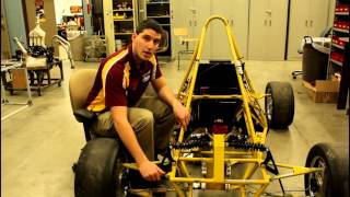 Download Central Michigan University Formula SAE: Rear suspension senior design Video