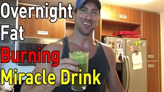 Download Lose Weight FAST with this Bed Time Fat Cutting Drink! (How To Lose Belly Fat Overnight Drink!) Video