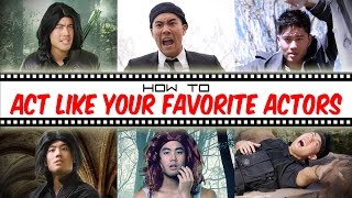 Download How To Act Like Your Favorite Actors Video