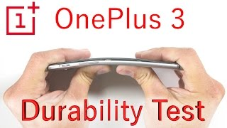 Download OnePlus 3 Bend Test - Scratch Test - Burn Test - Durability video Video