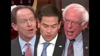 Download HEATED SENATE TAX DEBATE: Bernie Sanders DESTROYS Marco Rubio & Pat Toomey on Trump's Tax Bill Video