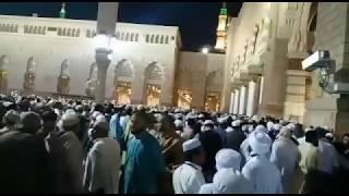 Download LIVE || MADINA SHARIF || EID MILAD UN NABI ﷺ 2017|| Video