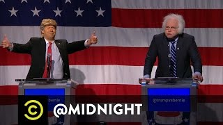 Download Trump vs. Bernie in the First Ever @midnight Presidential Debate Video