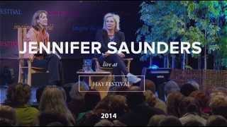 Download Jennifer Saunders talks to Francine Stock Video