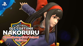 Download The King of Fighters XIV - Nakoruru School Uniform Costume Trailer | PS4 Video