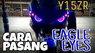 Download #243 TUTORIAL PASANG EAGLE EYE Y15ZR    VLOGMALAYSIA Video