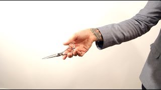 Download HAIR TUTORIAL: Haircutting Tricks - how to hold your scissors - scissor tricks from Matt Beck Video