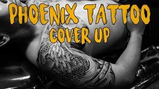 Download สัก3000บาท ลบ 28,000บาท รอยสักนกฟีนิกซ์ความผิดพลาดในอดีต Phoenix tattoo cover up Video
