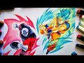 Download Como dibujar a GOKU Ssj Blue vs JIREN dragon ball super. How to Draw GOKU Ssj blue vs JIREN the Grey Video
