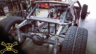 Download Custom Cantilever Suspension | Mustang Hot Rod Build Video