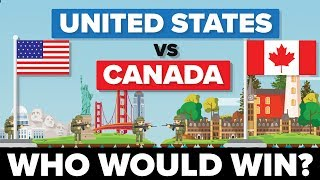 Download United States (USA) vs Canada - Who Would Win - Army / Military Comparison Video