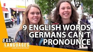 Download 9 English words Germans can't pronounce Video