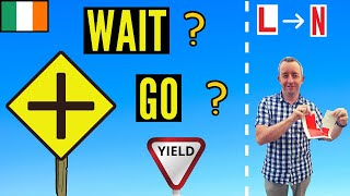 Download Crossroads who goes first clearly explained? Right of way Driving lesson. Video