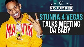 Download Stunna 4 Vegas talks meeting Da Baby and Blowing Up Together Video