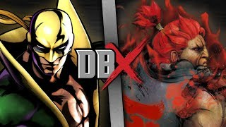 Download Iron Fist VS Akuma (Marvel VS Street Fighter) | DBX Video