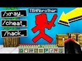 Download TROLLING MY LITTLE BROTHER with MINECRAFT HACKS! Video