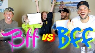 Download VLOG SQUAD BEST FRIEND TAG!! (Zane and Heath VS Carly and Erin) Video