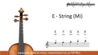 Download Notes on Violin (First Position) Video