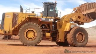Download CAT 993K loading 777G trucks Video