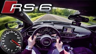 Download Audi RS6 PERFORMANCE 700 HP AUTOBAHN POV ACCELERATION & TOP SPEED by AutoTopNL Video