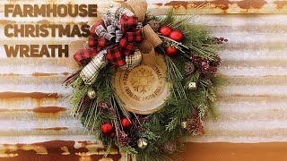 Download DIY Buffalo Check and Plaid Farmhouse Christmas Wreath, All Wal-Mart and Clearance - Christmas 2019 Video