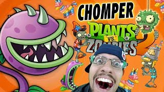 Download Chase & The Chomper! Lets Play PVZ 2: (Big Wave Beach WORLD Party!) NEW PLANTS + ZOMBIES! Video