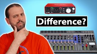 Download Audio Interface Vs Mixer With USB Interface Video
