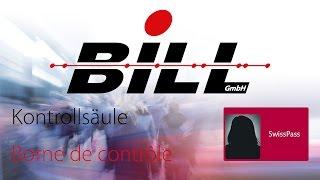 Download Kontrollsäule für den SwissPass von Bill GmbH Video
