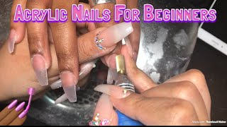 Download Acrylic Nails For Beginners | Materials Needed To Do Nails Video