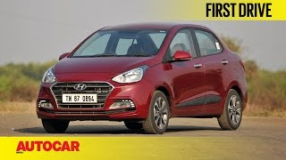 Download 2017 Hyundai Xcent Facelift | First Drive | Autocar India Video