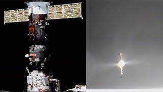 Download Soyuz MS-08 undocking and departure Video