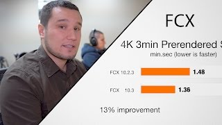 Download New Final Cut Pro 10.3 Performance Improvements tested VS 10.2.3 Video