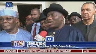Download Atiku, Jonathan Optimistic PDP Will Return To Power In 2019 Video