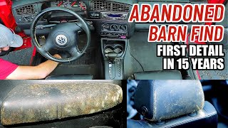 Download Cleaning The Dirtiest Car Interior Ever! Complete Disaster Full Interior Car Detailing Volkswagen Video