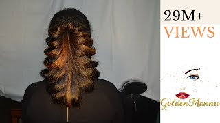 Download Latest Hairstyle For Parties| GoldenMannu Video