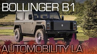 Download Bollinger B1: One Serious Electric SUV - LA Auto Show 2017 Video