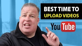 Download When Is the Best Time To Upload Videos To YouTube? Video