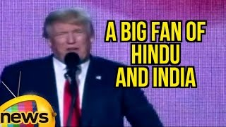 Download I Am A Big Fan Of Hindu And India | Donald Trump Speech At Hindu Indian American Event In New Jersey Video
