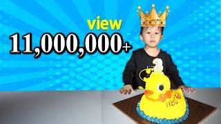 Download เค้กเป็ด S&P | เค้กวันเกิดเป็ดน้อย ฉลองวันเกิดน้องจีวร Video