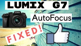 Download how to FIX G7/G85 auto-focus! June 2018 Video